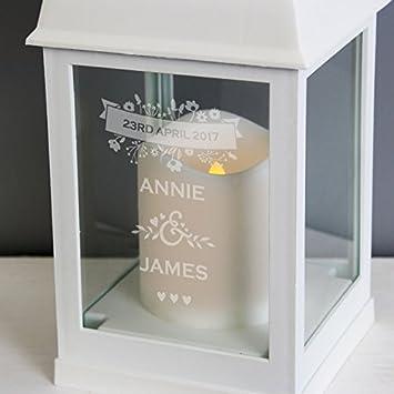 Personalised Soft Beige Wedding Countdown Plaque Engagement Handmade Gift