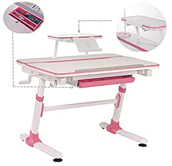 1 Meter Height Adjustable Study Table For Kids Youth Or Adult Children Ergonomic
