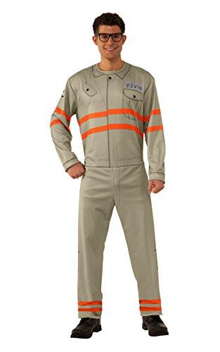 Rubie's Men's Ghostbusters Movie Adult Kevin Value Costume, Multi, Standard