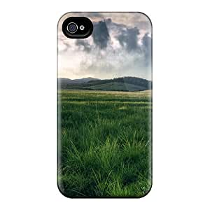 For CADike Iphone Protective Case, High Quality For Iphone 5/5s Spring Scenery Skin Case Cover