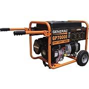 - Generac GP Portable Generator - 8750 Surge Watts, 7000 Rated Watts, Model# 5626