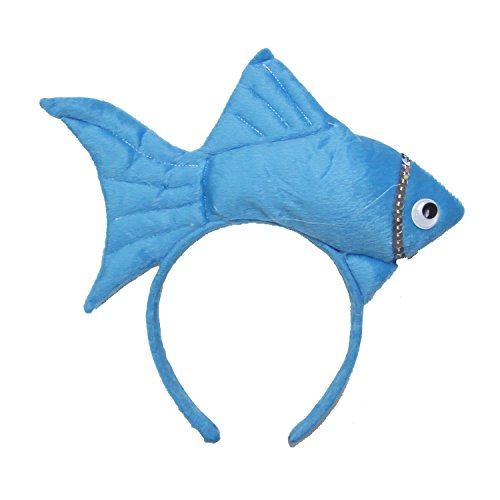 Kirei Sui Fish Headband Blue