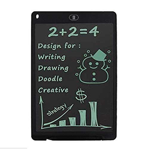 (CZYCO Electronic Writing/Doodle/Drawing Board 8.5 Inch LCD Writing Table Helps develop children's creativity(Black))