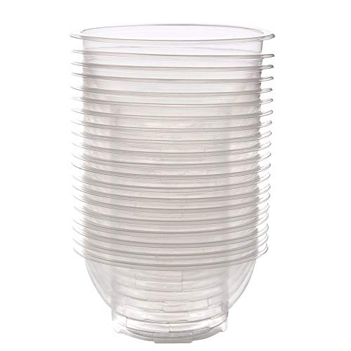 Best Quality - Bowls - 7512cm 20 Pcs Outdoor Picnic Party Camping Disposable Bowls Clear Plastic Disposable Rice Serving BowlKitchen Storage Tool - by Tini - 1 PCs
