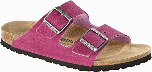 Birkenstock Sandals ''Arizona'' from Microfiber in Pink 41.0 EU W