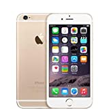 Apple iPhone 6, GSM Unlocked, 64 GB - Gold (Renewed)
