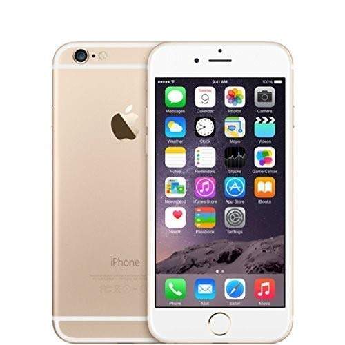 Apple iPhone 6, GSM Unlocked, 64 GB - Gold (Renewed) (Best Rb In The World)