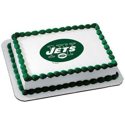 New York Jets Licensed Edible Cake Topper -