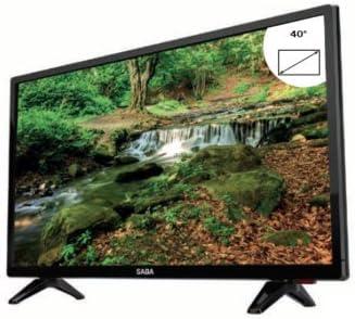 Saba sa40fhdt televisor LED 40 Full HD – Tecnología DVB T2: Amazon ...