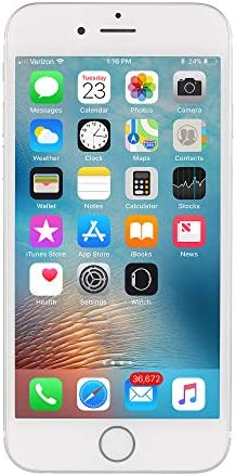 Apple iPhone 7 a1660 32GB Silver Verizon Unlocked (Renewed)