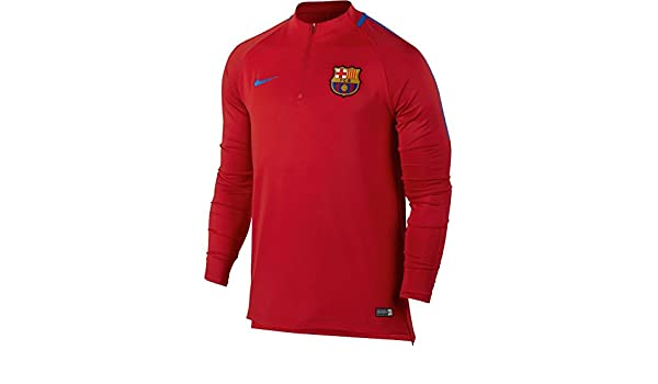 Nike performancefc Barcelona - Escuadra - University Red: Amazon ...