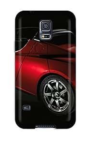 Defender For Case Samsung Galaxy S4 I9500 Cover , Tesla Roadster 29 Pattern