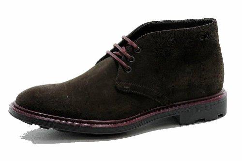 Hugo Boss Men's Fashion Dress Boot Bontio Leather Shoes 50255039 (11, Dark Brown)