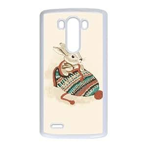 LG G3 Phone Case Cover White cozy chipmunk EUA15963805 Football Phone Cases