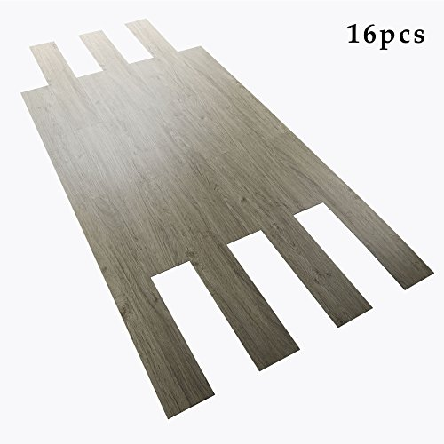 CO Z 16 PCS Odorless Vinyl Floor Planks Adhesive...