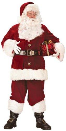 Super Deluxe Santa Suit Costume - Large