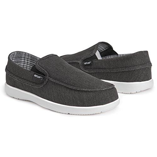Muk Luks Mens Chaussures Aris Sneaker Noir