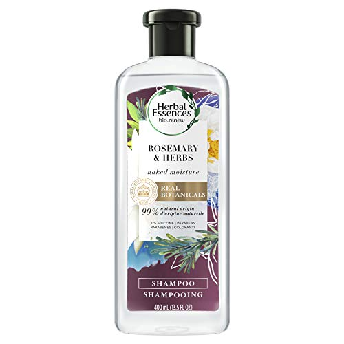 Herbal Essences Biorenew Rosemary & Herbs Naked Moisture Shampoo, 13.5 FL OZ (Pack of 6)