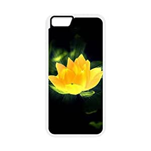 Custom Phone Case with Lotus Image On The Back Fit To iPhone 6,6S