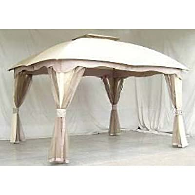 Garden Winds Replacement Canopy for Roof Style Gazebo : Garden & Outdoor