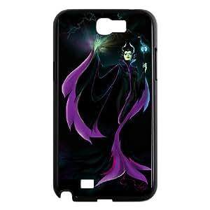 Samsung Galaxy Note 2 Black phone case Maleficent Sleeping Beauty PLG6727289