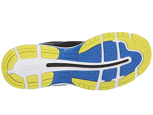 ASICS Men's Gel-Nimbus 20 Running Shoe, Black/Sulphur Spring/Victoria Blue 6 D US  by ASICS (Image #2)