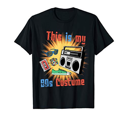 This Is My 90s Costume T-Shirt]()