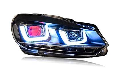 Amazon Com Gowe Car Styling Forvw Golf 6 Headlights 2010 2013 Golf6