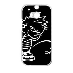 Cute Naughty Boy Black Background personalized creative custom protective phone case for HTC M8