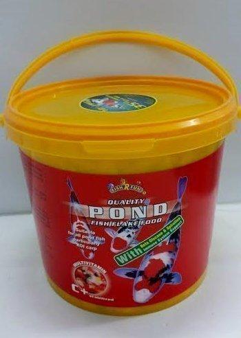 Comida en Copos para Peces de Acuario o Estanque , Cubo de 5 Litros con 10% de Regalo: Amazon.es: Productos para mascotas