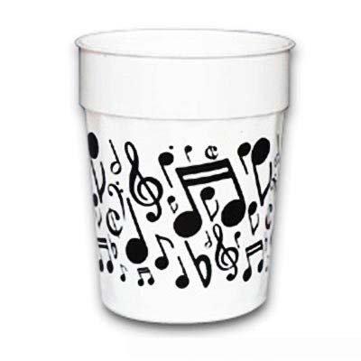Music Notes Plastic Cup - Gifts for Musicians (Best Affordable Dishwasher 2019)