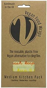 VEGAN FOOD WRAP - Medium Pack - Envolturas de alimentos en algodón ...