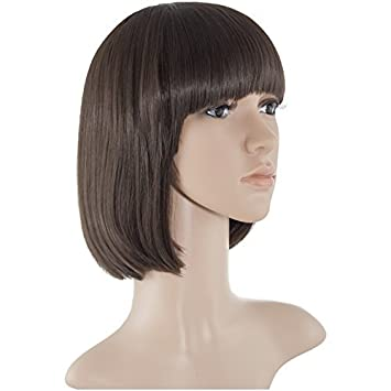 Amazon Com New Women Multi Colour Party Club Nightout Bob Hair Wig