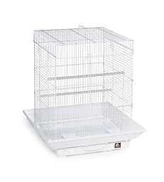 Prevue Hendryx SP850W/W Clean Life Cockatiel Cage, White
