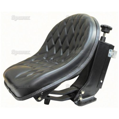 High Quality, Heavy Duty Tractor Seat Assembly W/ Full Suspension (Oliver: 1250A, 1255, 1265, 1270, 1355, 1365, 1370, 2-50, 2-60, Allis-Chalmers: 5040, 5045, 5050, Fiat: 480, 640, Long: 350, 360, 445, 460, 510, 560, 610) by Oliver, Allis-Chalmers, Fiat & Long