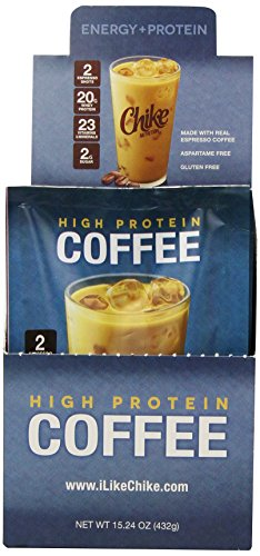 Chike High Protein Coffee, 12 Single Serving Packets, Net Wt 15.24 oz