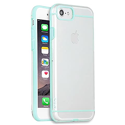 CYLO Tough-Lux Sheer iPhone 7 Case with Enhanced Ultra-Slim Design (Mint) (Fire Phone Screen Protector Moshi)