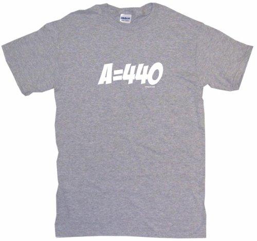 A 440 Tuning Reference Mens Tee Shirt 4Xl Gray