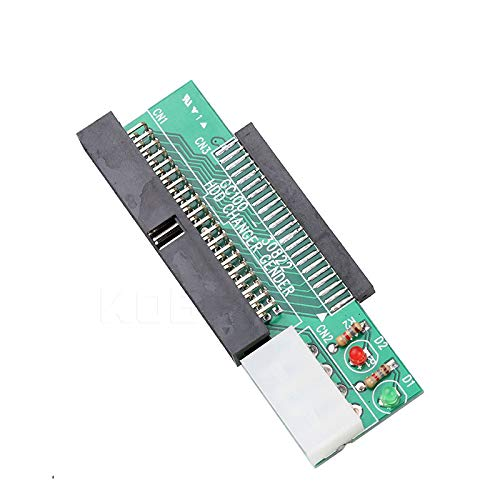 ch IDE to 3.5 Inch IDE 40Pin Interface Hard Disk Drive HDD Converter Adapter for Laptop Desktop Pc Computer ()