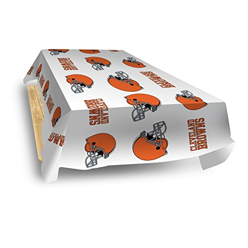 Rico Industries NFL Cleveland Browns 8-Foot Table Cover
