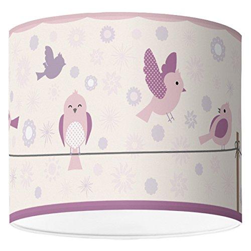 Tischlampe Oder Stehleuchte Hapytaly Birds Flowers Motiv