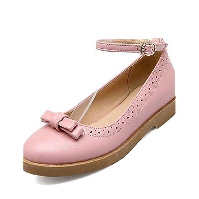 shangy idamen Chaussures–Ballerines–Bureau/robe/Lässig–en cuir synthétique–faible Paragraphe–Cycle Chaussures/fermée