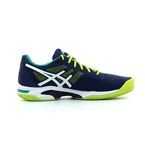 Asics Gel-Solution Speed 3, Scarpe da Tennis Uomo INDIGO BLUE/WHITE/LI