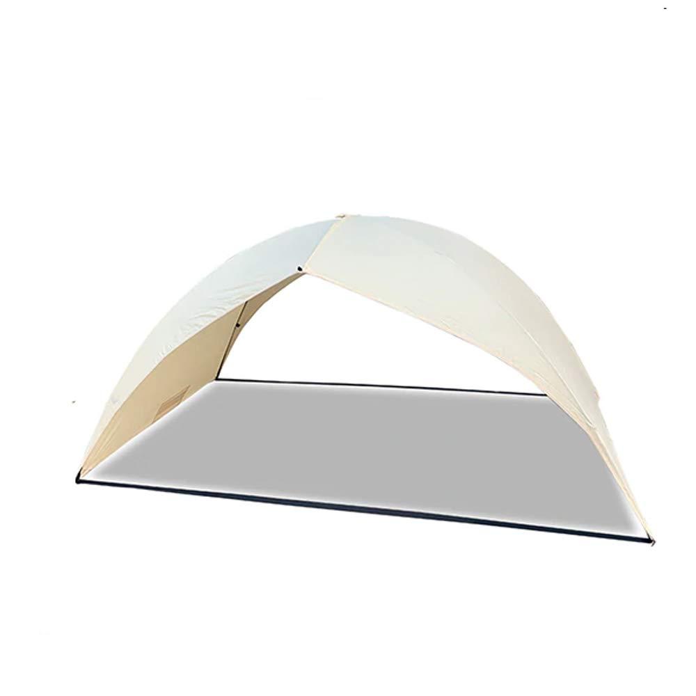 JOMINI Easy Setup White Solar Tent Easy for Two Beach Cover Sun UV Shade Tent Canopy Tarp Shelter
