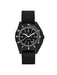 MARATHON WW194013 Swiss Made Military Issue Milspec Navigator Quartz Watch with Date and Tritium Illumination
