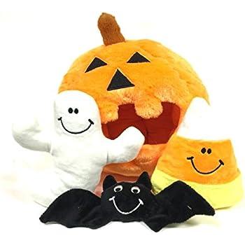 Pet Supplies : Pumpkin Find a Toy Halloween Dog Toy by
