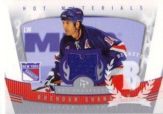 07 Hot Prospects Materials - 2006-07 Hot Prospects Hot Materials #HMBS Brendan Shanahan Jersey - NM