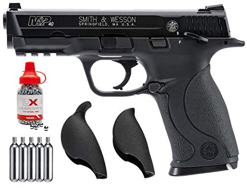 Wearable4U Umarex S&W M&P 40 .177 Caliber BB Gun Blowback Semi Automatic Air Pistol Bundle (May Vary)