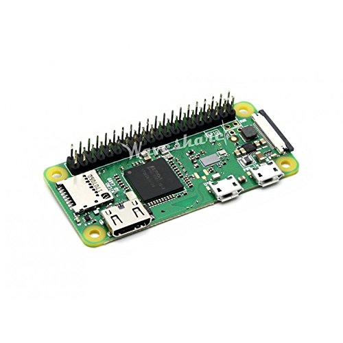 Raspberry Pi Zero WH with Built-in WiFi and Bluetooth, The Low-Cost pared-Down Pi, pre-soldered GPIO Headers