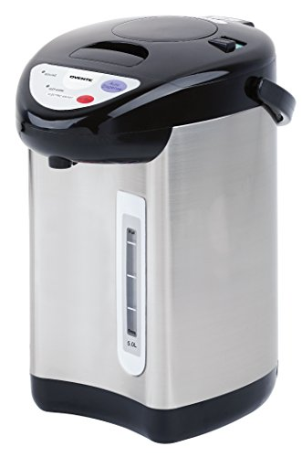 Ovente WA50S 5.0 Liter Insulated Water Dispenser with Boiler